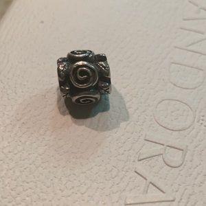 Authentic Pandora's charm. Swirl Charm.